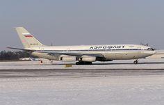 Aeroflot Russian Airlines Ilyushin IL-86