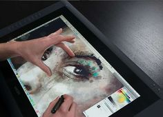 Wacom tablet. | My dream tablet. Great if you are a digital painter.