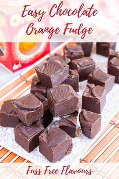 This chocolate orange fudge recipe is effortless and delicious with a tangy marmalade twist. You can make this easy seasonal treat in the microwave or follow my fuss-free, no boiling stove top… More