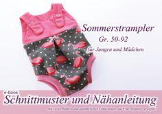 ebook+Strampler+für+den+Sommer+Anleitung+/+Schnitt+von+selbermacher+auf+DaWanda.com