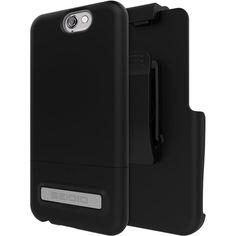 Seidio - Case for HTC One (A9) - Gray/black