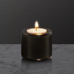 CANDLE HOLDER / SMOKED BRONZE - Buster + Punch