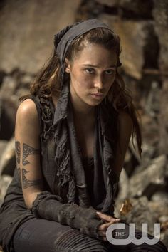 """The 100 -- """"Fog of War""""  -- Image: HU206b_0239 -- Pictured: Alycia Debnam - Carey as Lexa -- Photo: Cate Cameron/The CW -- © 2014 The CW Network, LLC. All Rights Reservedpn"""