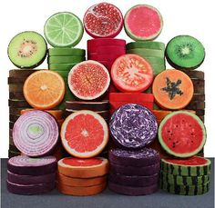 3D Simulation Fruit Seat Cushion (13 designs)