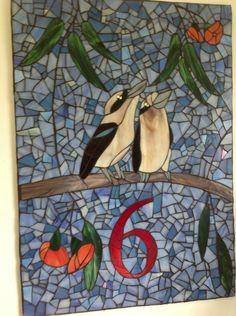 mosaic art gallery | ... Mosaic Art Gallery - Australian Mosaics Mosaic House Numbers