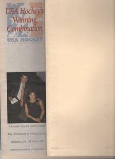 THE GRANATO'S Usa Hockey, 60th Anniversary, Role Models, American, Cover, Books, Templates, Libros, Book