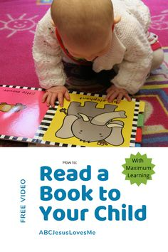 A book is so much more than words and pictures. View this free video to learn how to maximize the learning while reading a book to your child or students. LINK in BIO Pre-school Books, Books To Read, 3 Year Olds, More Than Words, Pre School, Preschool Activities, Your Child, Did You Know, Students