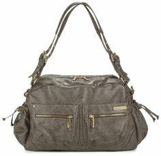 Amazon.com: timi & leslie Jessica Diaper Bag, Taupe: Baby