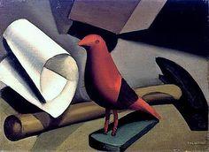 Tamara de Lempicka, The Red Bird -1924