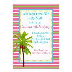 3507b7e0c78d59 Luau Birthday Invitations Luau Birthday Invitations