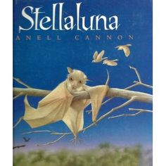 Stellaluna is a good book. Because well, I guess Stellaluna is a good book. Let me tell you some bat facts. Well, Stellaluna is also base. Leo Lionni, Books To Read, My Books, Story Books, Fall Books, Music Books, Baby Bats, Nocturnal Animals, Mentor Texts