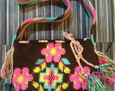 Wayuu Mochila Bag by LittleLatinStore on Etsy