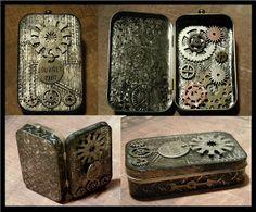 Steampunk Mint Tin