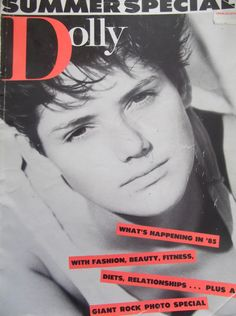 """This is the Dolly Magazine """"Summer Special 1984"""" with one of my favourite models Janine Foy.Sadly this is the only one I have left of my '84/'85 collection.I'm looking for images of May, July & August '84 if anyone has them? Summer Special, Retro Ads, Retro Vintage, My Childhood, Magazine Covers, Magazines, Journals, Magazine, Vintage Ads"""