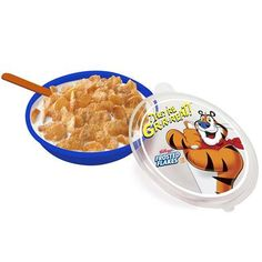 Kellogg's® Frosted Flakes Tote-A-Bowls - 2 Colors | Kitchen & Home | KelloggStore.com