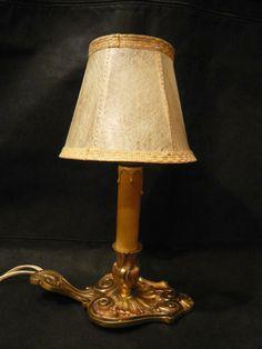 Lampe/Rat de cave, Lucien GAU, style Louis XV