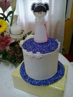 Torta falsa para mesa dulce.