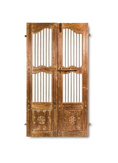 Unlike the usual clutter of antique doors sold online these days, this thoughtfully crafted wooden creation comes straight from India, boasting of authentic Indian artisanship. Wearing a slightly weathered finish, this Iron Grill Antique Door can accentuate the traditional design of your existing décor or make a smart contrast with an otherwise contemporary design. The construction is remarkably good, using … Indian Doors, Antique Doors, Light Texture, Wood Doors, Traditional Design, House Colors, Contemporary Design, Iron, Colours