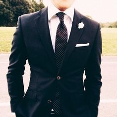 Wedding suit.
