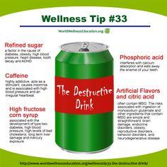 #Wellness Tip No. 33 - The Destructive Drink