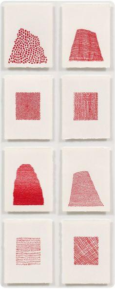 Emily Barletta: Embroidered Paper - THE FIBER STUDIO Paper Embroidery, Embroidery Stitches, Embroidery Patterns, Floral Embroidery, Embroidered Paper, Embroidery Digitizing, Art Patterns, Silkscreen, Textiles