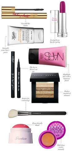 Spring Makeup Must Haves