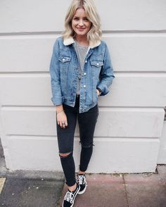 25 Casual Fall Outfits for Girls to Copy Right Now - Fall Outfits - Casual copy Fall Girls Outfits Fall Outfits For Teen Girls, Casual Fall Outfits, Spring Outfits, Winter Outfits, Vans Outfit, Vans Old Skool Outfit, Mode Outfits, Girl Outfits, Fashion Outfits