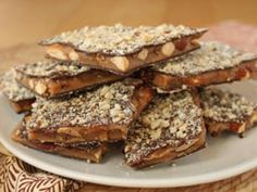Almond Toffee photo - (c) 2012 Elizabeth LaBau, licensed to About.com, Inc.