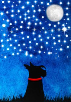 A personal favorite from my Etsy shop https://www.etsy.com/listing/252345670/scottie-dog-art-print-scottish-terrier