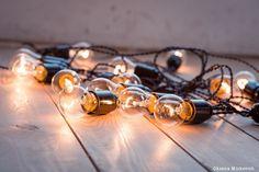 Ретро гирлянда Эдисон с лампами накаливания  #ретро #гирлянда