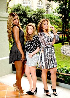 Orange Is The New Black: Laverne Cox, Natasha Lyonne, and Dascha Polanco