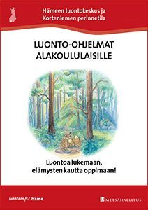 Luontokoulu alakoululaisille Science Art, Science And Nature, Forest Animals, Second Grade, Teaching, Outdoor, Outdoors, Woodland Creatures, Science And Nature Books