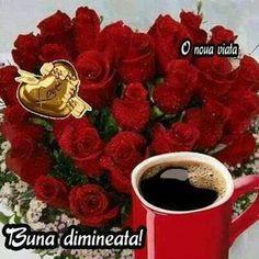 Good Morning Roses, Clara Alonso, Raspberry, Coffee, Bom Dia, Kaffee, Cup Of Coffee, Raspberries