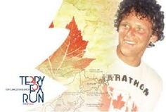 A Great Canadian Hero Young Man Who Brought Our Country Together Terry Fox