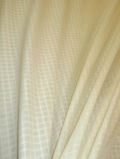 "Sheer Drapery Mini Window Pane  color Alabaster, extra wide at 120"" (10 feet wide for hanging width vertically in wide seamless applications)  polyester FR  from a warehouse buyout, discount clearance priced at only $19.95, regular price $38.00, by the yard, can not be reordered at this price  #draperysheer #homedecor #windowpane #coloralabaster"