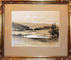 Karel Liebscher (1851 – 1906) | Jihočeská krajina | www.marold.cz/aukce