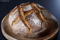 grießbrot / bread with farina Ice Cream, Bread, Dinner, Desserts, Recipes, Food, Sport, Fitness, Bread Baking
