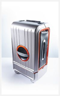 Carry-on Luggage Design Concept. thisispk.com #luggage #design