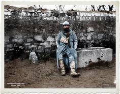 Un combattant de Verdun au repos : [photographie de presse] / Agence Meurisse Bibliothèque nationale de France Description :  Référence bibliographique : Meurisse, 59830 https://www.facebook.com/centenariogg.oficial/