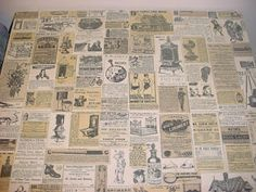 Retro Wendy's table tops. I used to love reading all the old ads. :)
