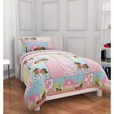 Girls Horse Bedroom | Girls Horse Bedding | eBay