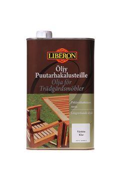 Liberon Öljy puutarhakalusteille
