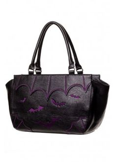 Banned Apparel Bat Handbag | Attitude Clothing