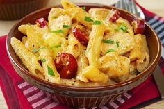 Chicken And Tomato Pasta With Snow Peas