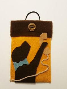 """Dog Phone Case,Labrador Phone Cover,Case for 4""""-6""""Phone,Galaxy Phone,Phone Case,Personalized Phone Case,Handmade Cover,Felt iPhone Case,Gift by WILLIAMBEN on Etsy"""