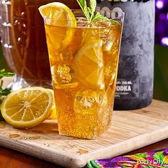 Jazz up your Mardi Gras party with Big Easy cocktails like Fat Tuesday Iced Tea. Click for the recipe plus 9 more!