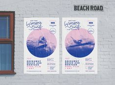 Event Branding Design:The New York Women's Surf Film Festival, a project of Lava Girl Surf, celebrates the filmmakers and female wave riders who live to surf, highlighting their sense of adventure, connection to the ocean and love for their own communiti…