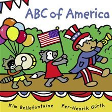Kobo Vox eBook: ABC of America, written by Kim Bellefontaine and illustrated by Per-Henrik Gürth