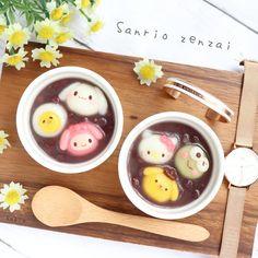 Cute Food, Good Food, Yummy Food, Japanese Sweets, Japanese Food, Baby Food Recipes, Sweet Recipes, Cute Desserts, My Best Recipe
