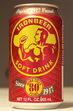 Nostalgia moment- IronBeer Soft Drink (Soda): I remember drinking this evil stuff by the crate when I was a kid. It tasted great then! lol